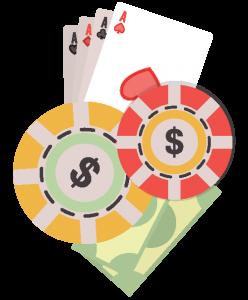 撲克籌碼兌現金