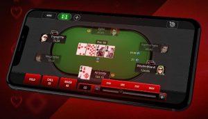 pokerstars撲克之星手機介面圖